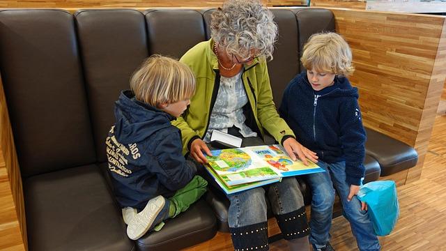 čtení od babičky