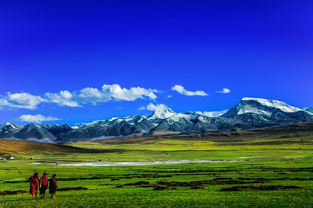 mniši v tibetu