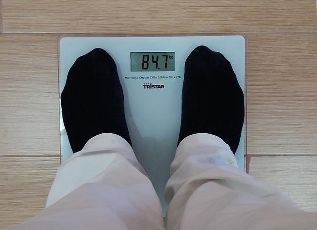 měření tělesné hmotnosti